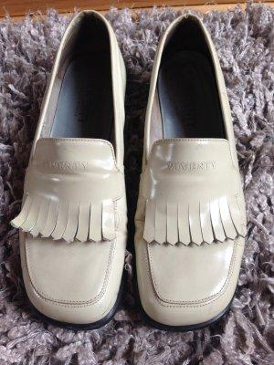 Loafer weiß, klassisch und edel