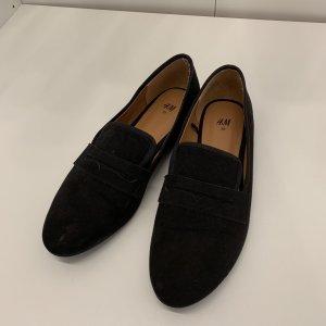 H&M Mocassins noir