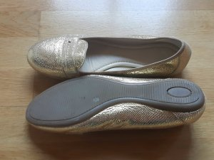 Eden Slippers gold-colored