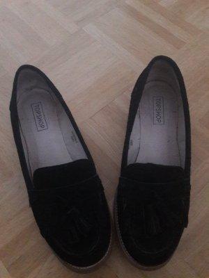 Loafers in schwarz