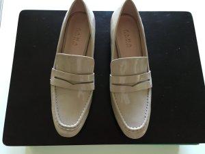 Loafers Lackleder