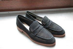 Loafers schwarz Gr. 39 Leder Flats Vince Camuto