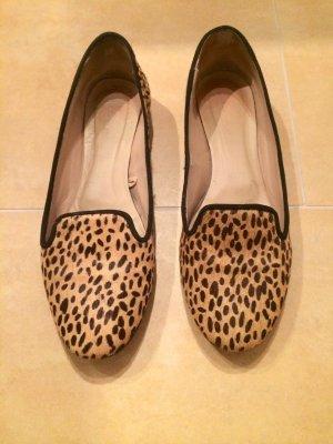 Loafers von ZARA mit Leopardenprint