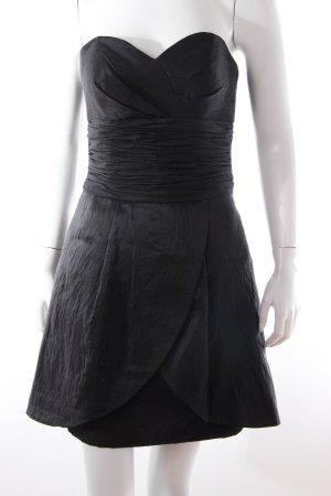 Loana Bandeau-/Cocktailkleid schwarz