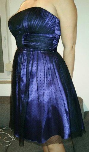 Loana Bandeaukleid / Abendkleid lila Gr. 40