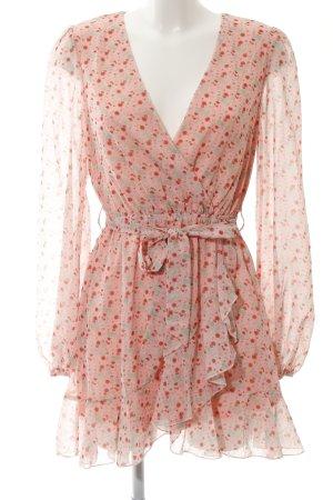 Loavies Blusenkleid Blumenmuster Romantik-Look