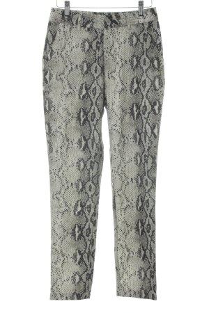 Loavies Pantalon taille haute gris vert-noir style classique