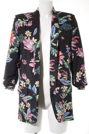 Loavies Jerseyblazer Blumenmuster Casual-Look