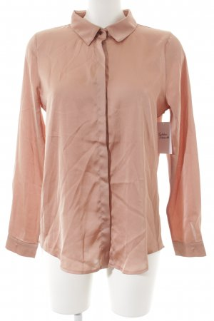 Loavies Langarm-Bluse nude Elegant