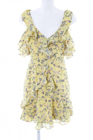 Loavies Minikleid Blumenmuster Beach-Look