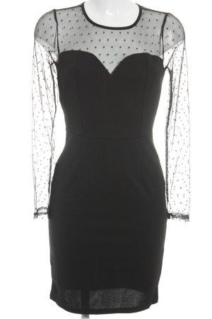 Loavies Minikleid schwarz Elegant