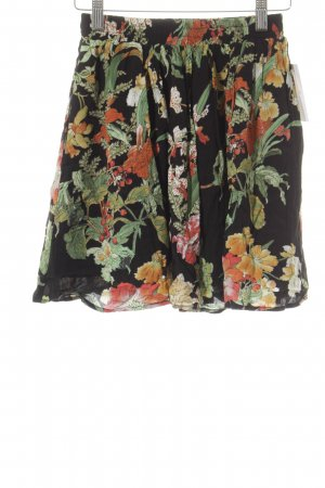 Loavies Minirock florales Muster Street-Fashion-Look