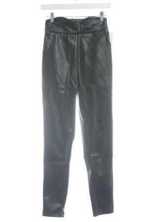 Loavies Pantalon strech noir style décontracté
