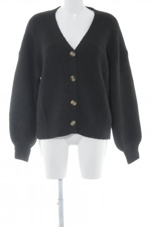 Loavies Cardigan black casual look