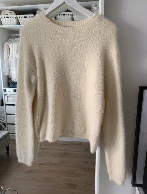 Loavies Coarse Knitted Sweater white-cream
