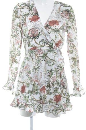 Loavies Wickelkleid Blumenmuster Casual-Look