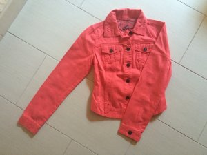 Lobsterfarbene Jeansjacke *neu*