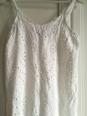 Lochstickerei Kleid
