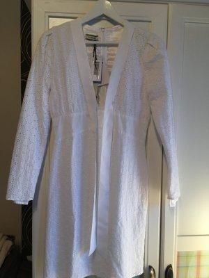 Lochstickerei Kleid neu