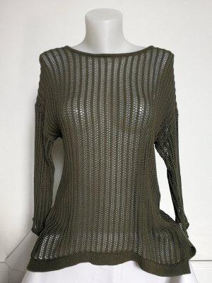 Lochstrick Pullover von Gina Tricot (Gr. S)
