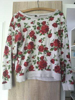 Locker anliegender Rosenpulli von H&M