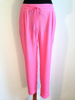 Locker geschnittene pinke Hose von Zara, Gr. M (38)