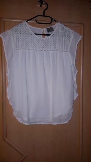 Locker leichetes Shirt im Blusen-Look