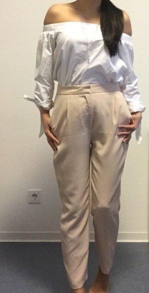 Zara Pantalón tipo suéter multicolor
