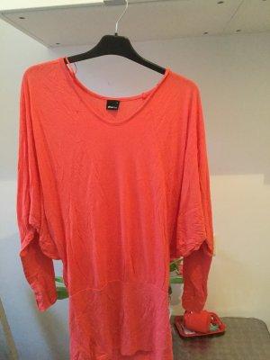 Gina Tricot Oversized Shirt bright red-salmon