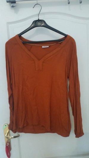 lockere Bluse von only in orange