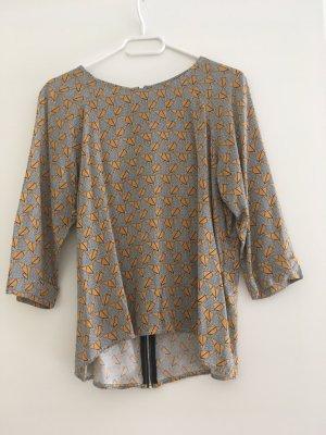 Vero Moda Oversized blouse veelkleurig Viscose