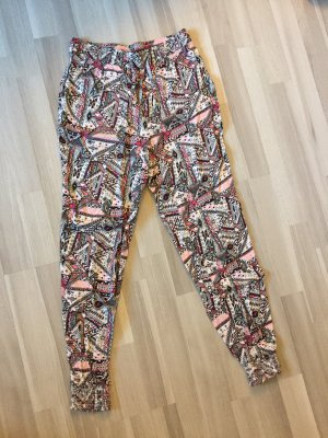H&M Divided Pantalón estilo Harem multicolor