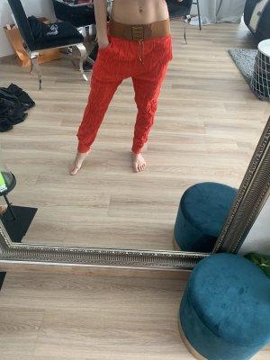 Pantalon «Baggy» rouge