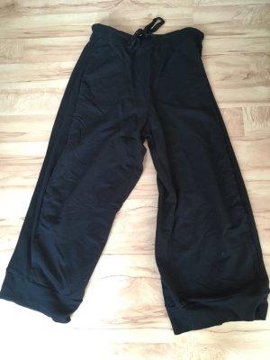 Black Label Sweat Pants black cotton
