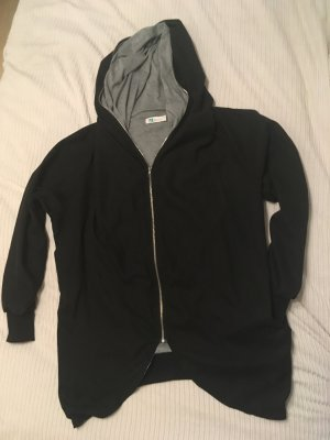 Lesara Chaqueta holgada negro-gris Poliéster