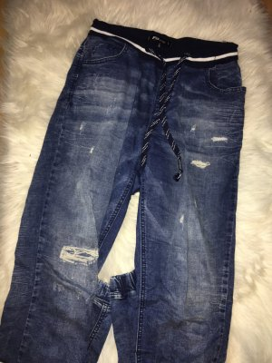 Lockere Jeans (Jogginghosenstil)