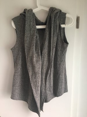 7 For All Mankind Hooded Vest grey