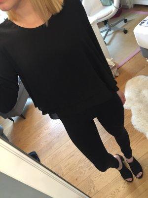Lockere langärmelige Bluse