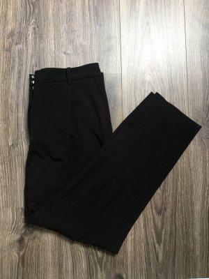 Lockere schwarze Anzughose