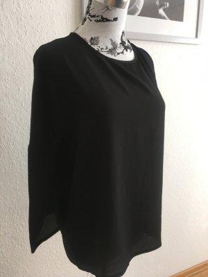Lockere schwarze Bluse
