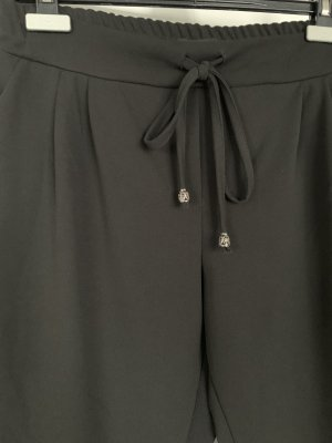 Made in Italy Pantalon en jersey noir