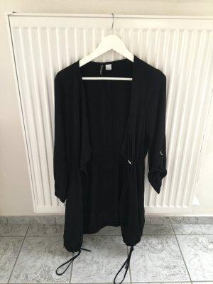 Lockere schwarze Jacke