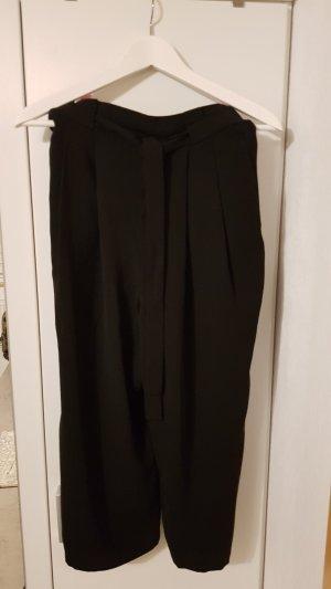 Zara Basic High Waist Trousers black