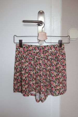 Lockere Shorts Blumen