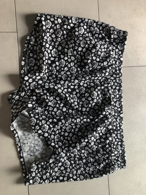 H&M Short noir-blanc