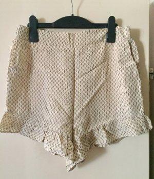 Lockere Shorts mit Muster