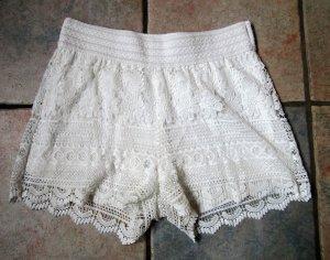 lockere Spitzen Shorts