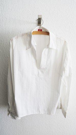 lockere weiße Sommerbluse von Esprit Größe 38