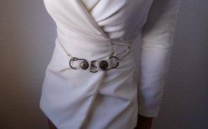 Vintage Cintura con catena multicolore Finta pelle