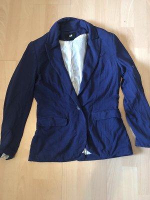 H&M Sweat Blazer blue